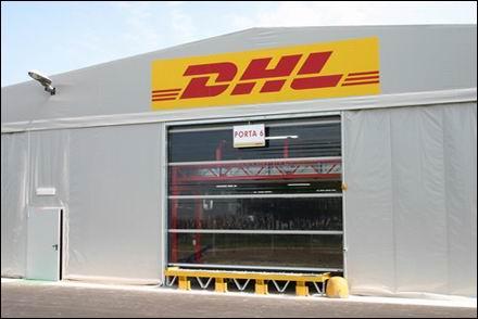 DITEC SECTOR gyorskapuk a DHL-nél