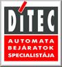 DITEC ipari gyorskapu logo