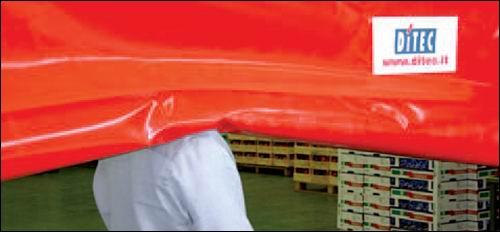 DITEC ipari gyorskapu használata biztonságos