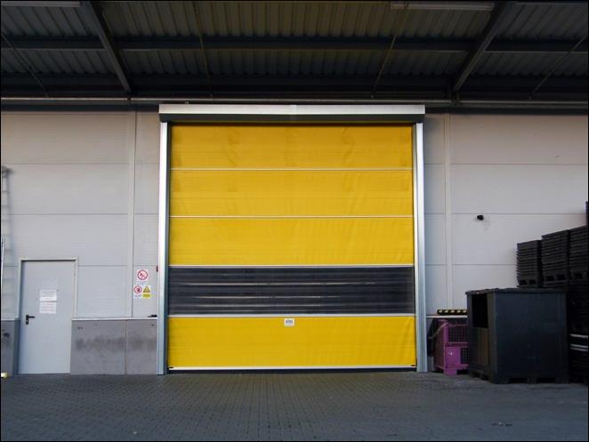 Ditec Sector ipari gyorskapu a Fehrer Automotive-Rába Kft-nél Móron